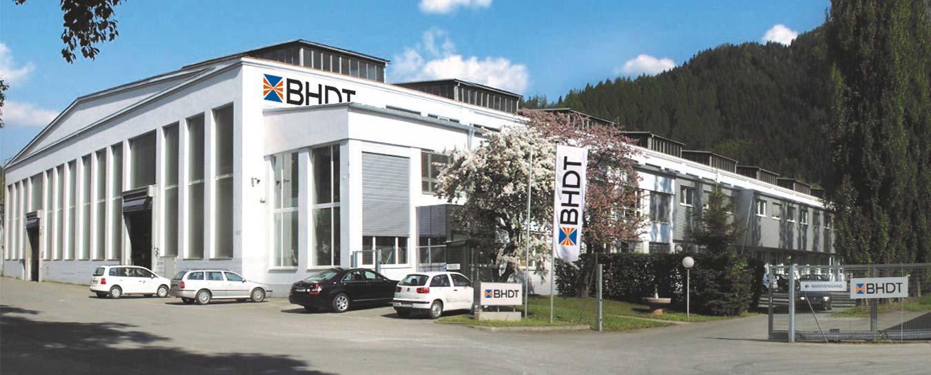 Altes Gebäude von BHDT
